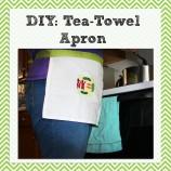 DIY: Tea Towel Apron