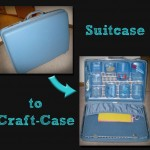 DIY: Suitcase to Craft Case