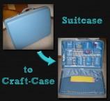 DIY: Suitcase to Craft Case