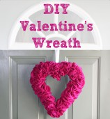 DIY: Valentine Heart Wreath