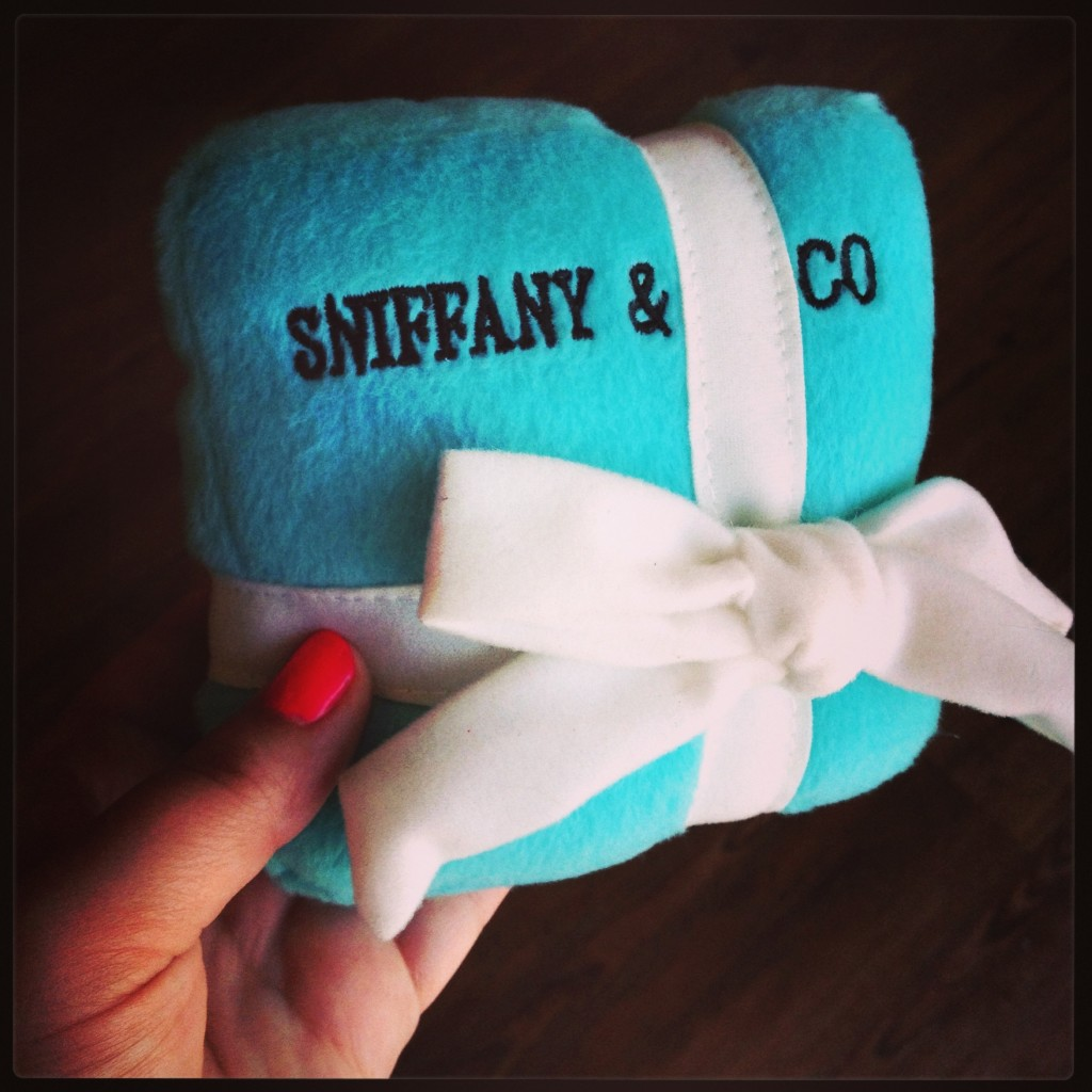 Sniffany and Co. dog toy