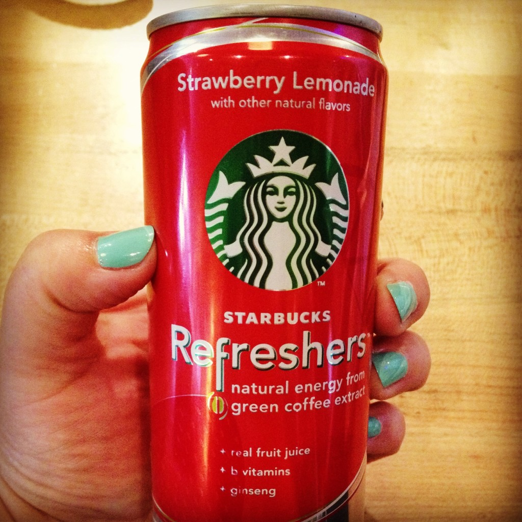starbucks strawberry lemonade refresher