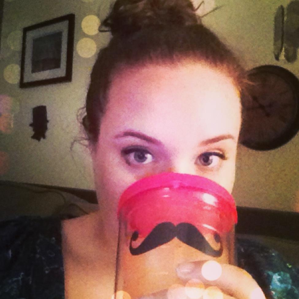 Mustache Tervis Tumbler