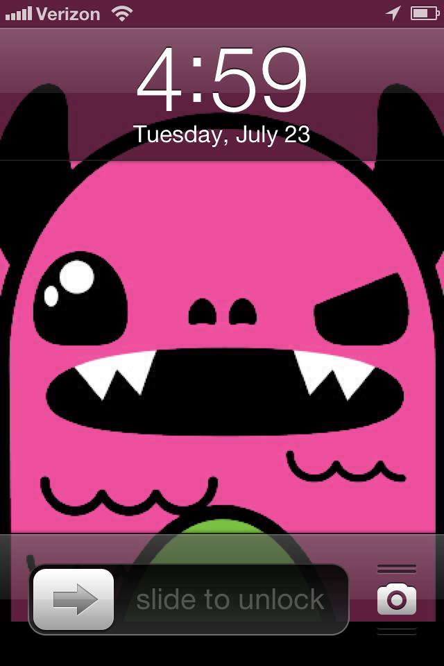 So So Happy lock screen