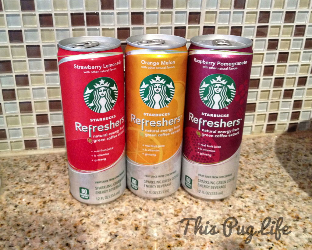 Starbucks refreshers cans