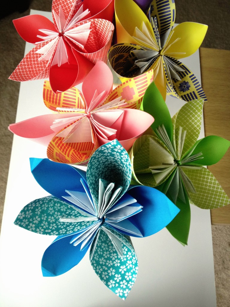 Origami Paper Flowers
