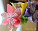 DIY: Origami Paper Flowers
