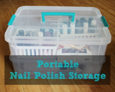 nail polish caddy
