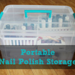 Portable Nail Polish Storage