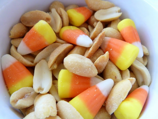 Candy Corn and Salted Peanuts