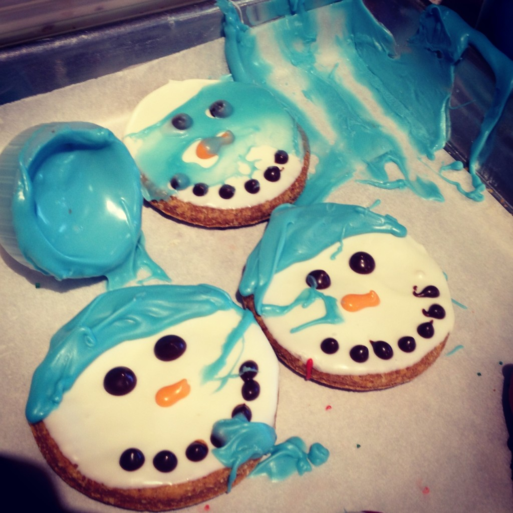 frosting mishap