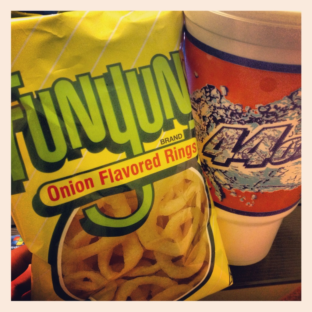 funyuns and soda