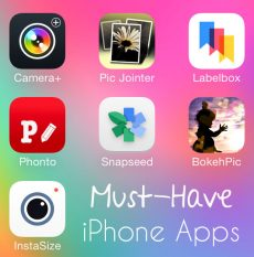 Must-Have iPhone Photo Apps