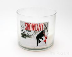 Bath and Body Works Snow Day Candle