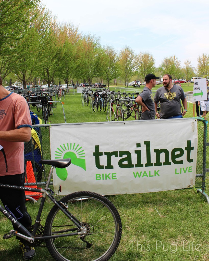 St. Louis Earth Day Festival Trailnet Bike Valet
