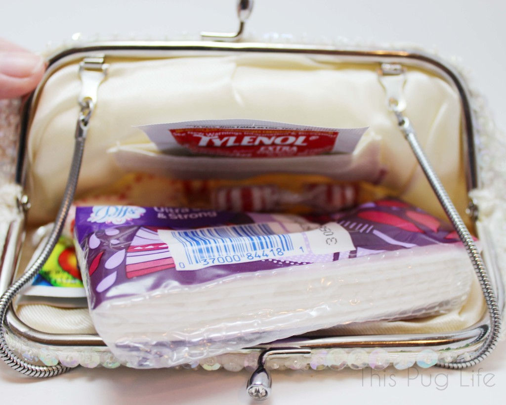 DIY Vintage Clutch Bride Emergency Kit