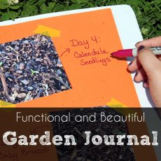 Functional yet Beautiful Garden Journal