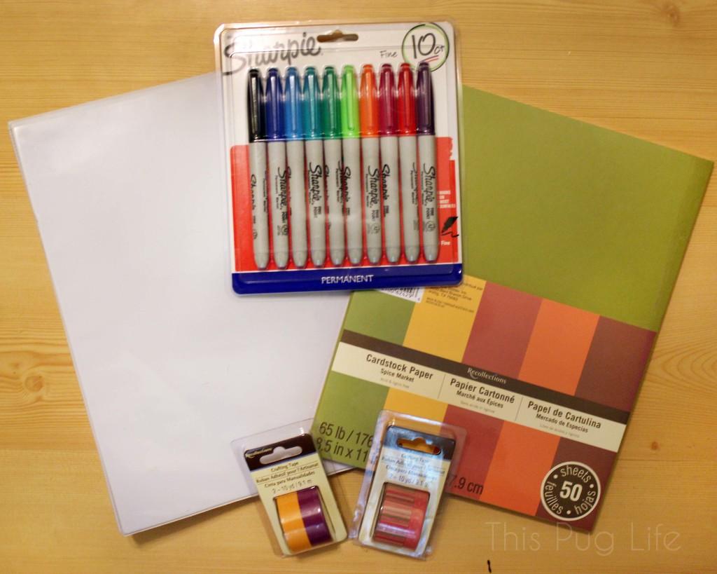 Garden Journal Supplies
