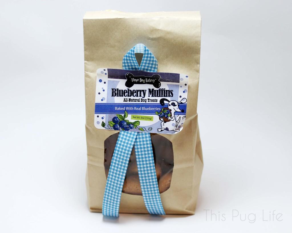Three Dog Bakery Blueberry Muffins