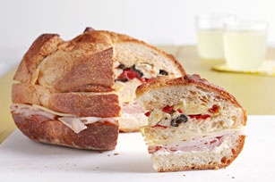 Kraft Recipes Antipasto-Sub-Club-Sandwich