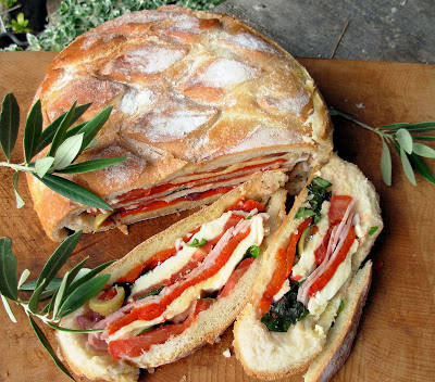 Lavender and Lovage French Summer Picnic Sandwich