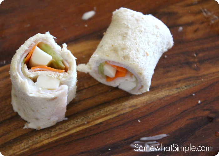 Somewhat Simple Sandwich Sushi