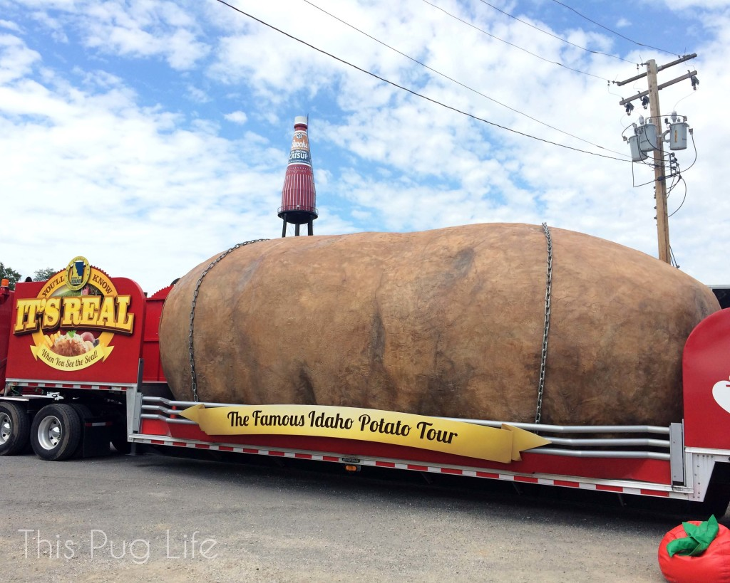 Big Idaho Potato Tour at World's Largest Catsup Bottle