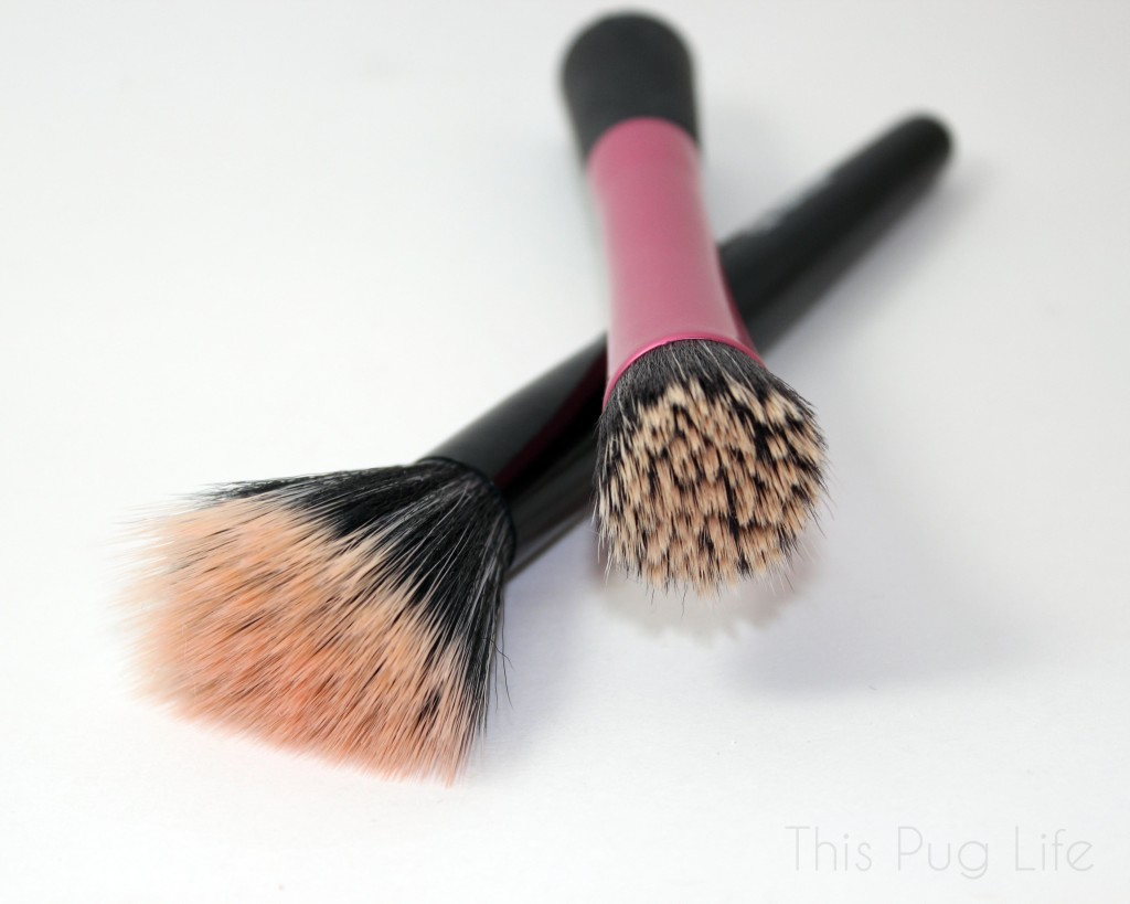 DIY Makeup Brush Spot Cleanser Before