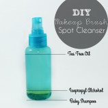 DIY Makeup Brush Spot Cleanser