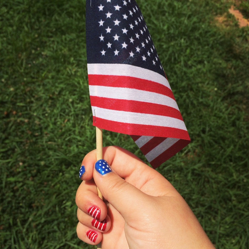 American Flag Manicure