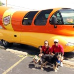 Pug Visits the Oscar Mayer Wiener Mobile