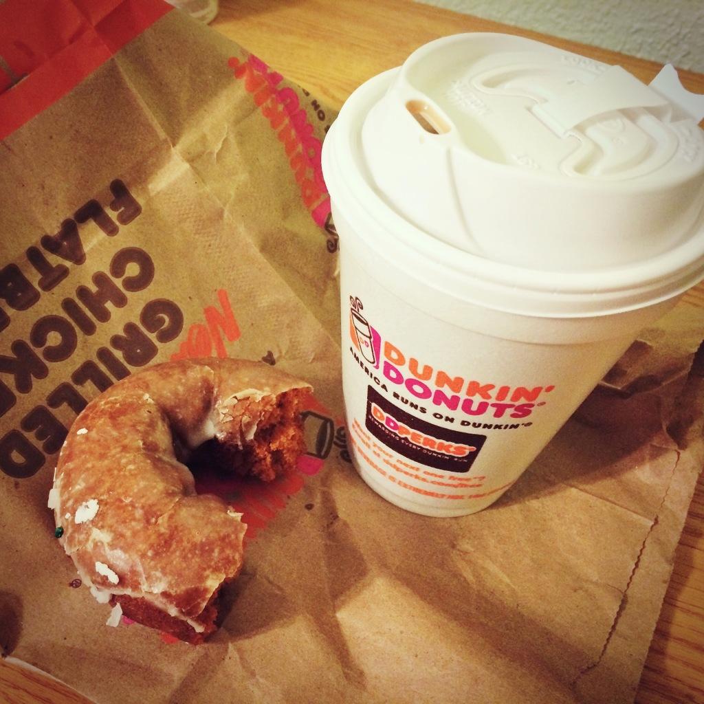 Dunkin Donuts Pumpkin Donut