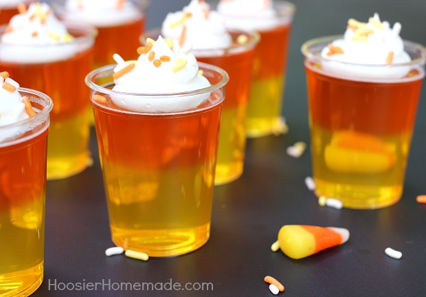 Candy Corn Jello Shot