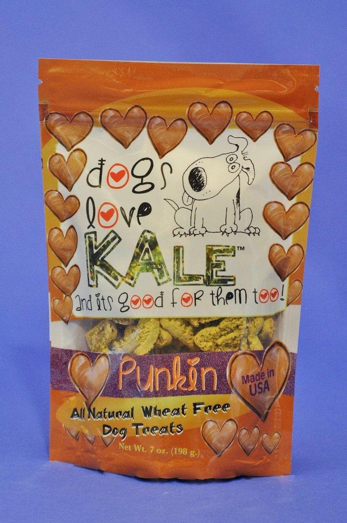 Dogs Love Kale Punkin