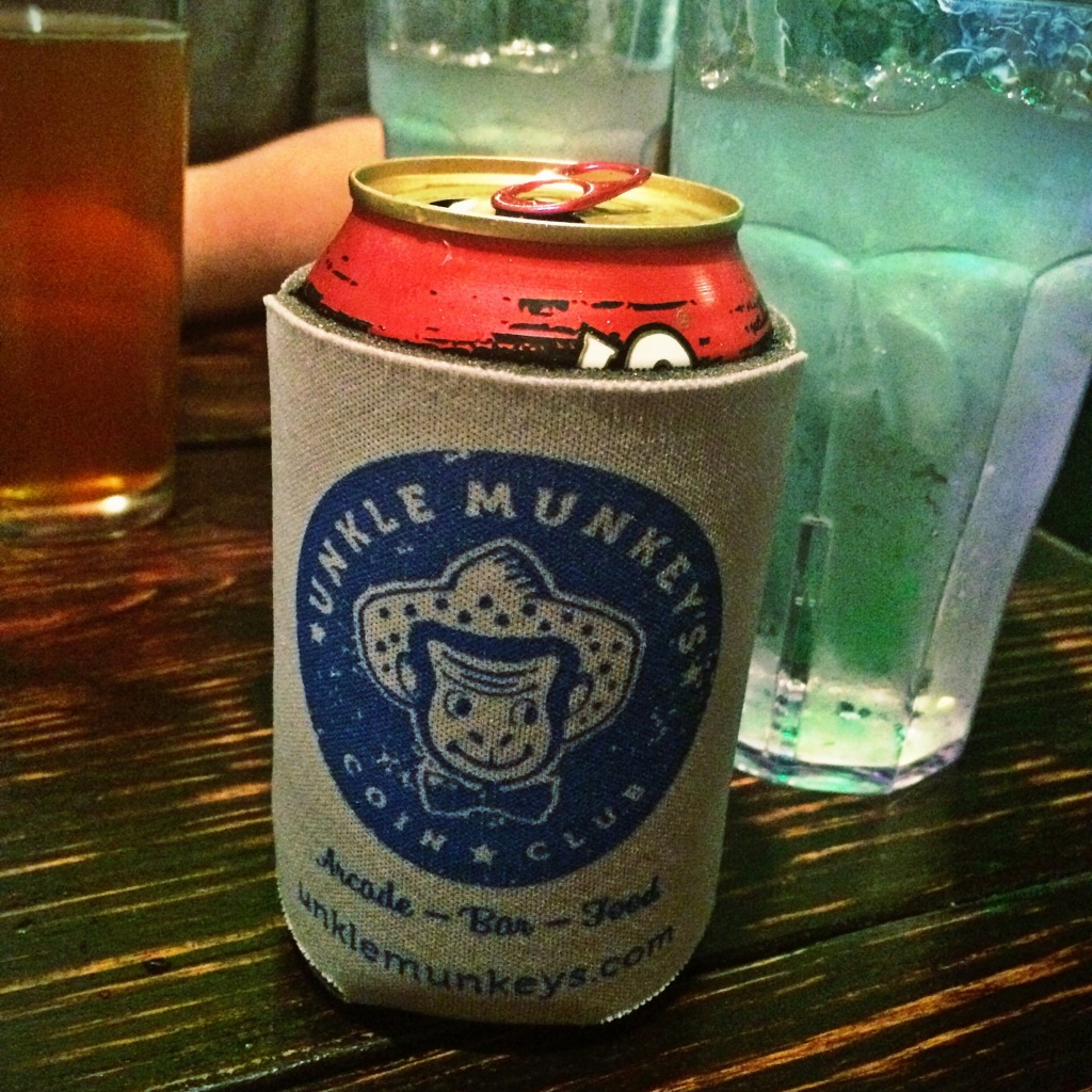 Unkle Munkey's Can Koozie