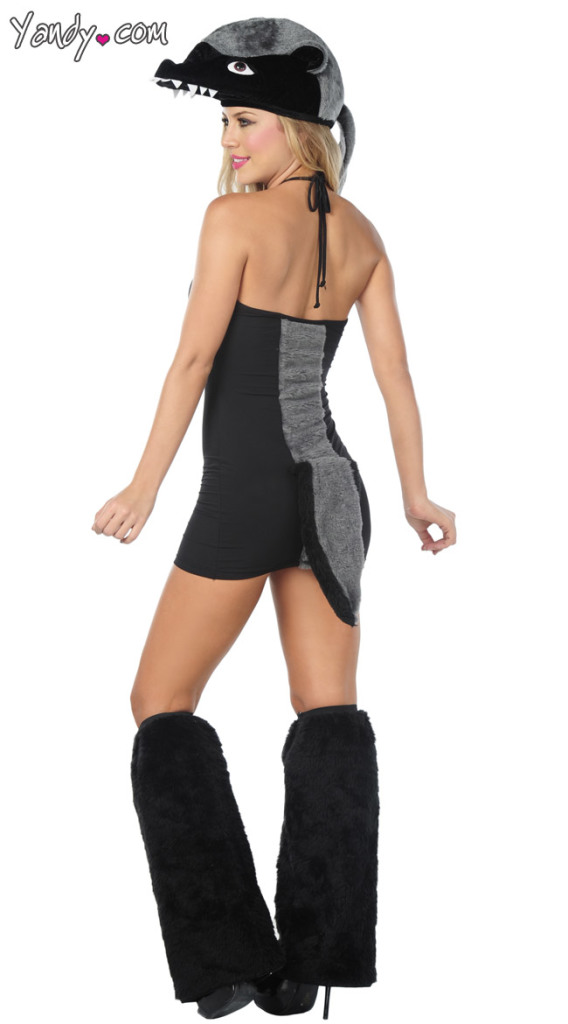 Sexy Honey Badger Costume