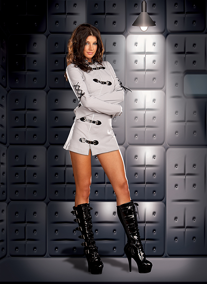Sexy Straight Jacket Costume
