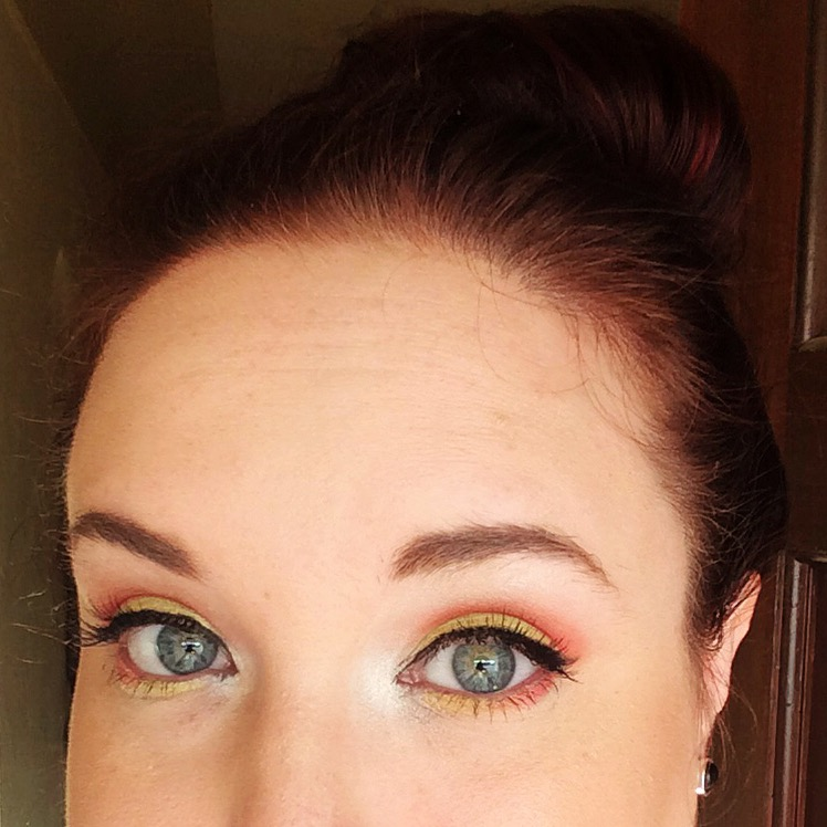 Candy Corn Eyeshadow