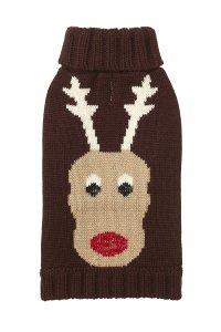 Fab Dog Reindeer Sweater