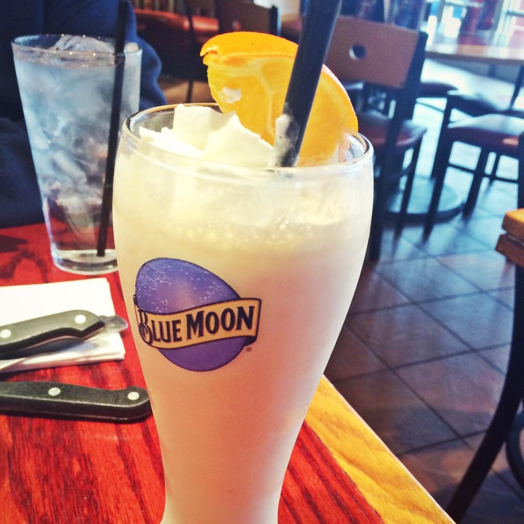 Blue Moon Milkshake