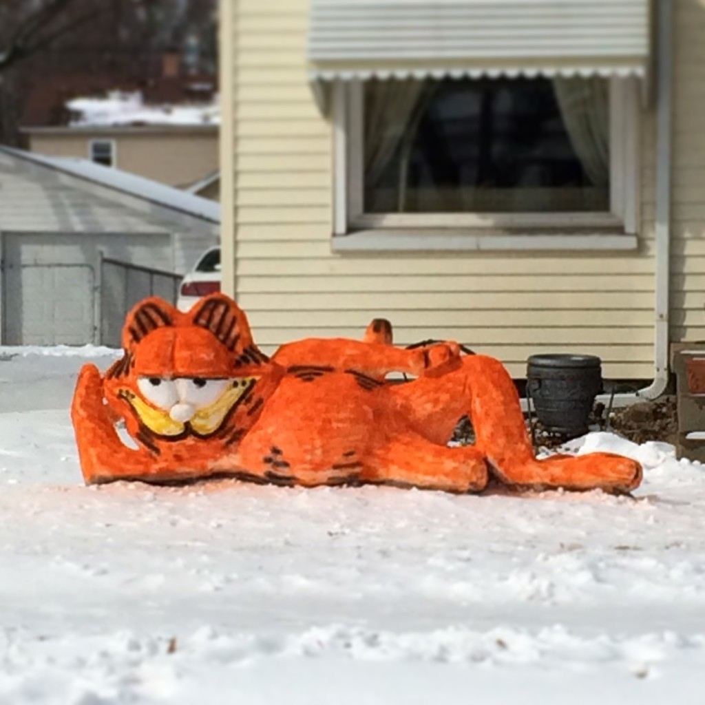 Snow Garfield