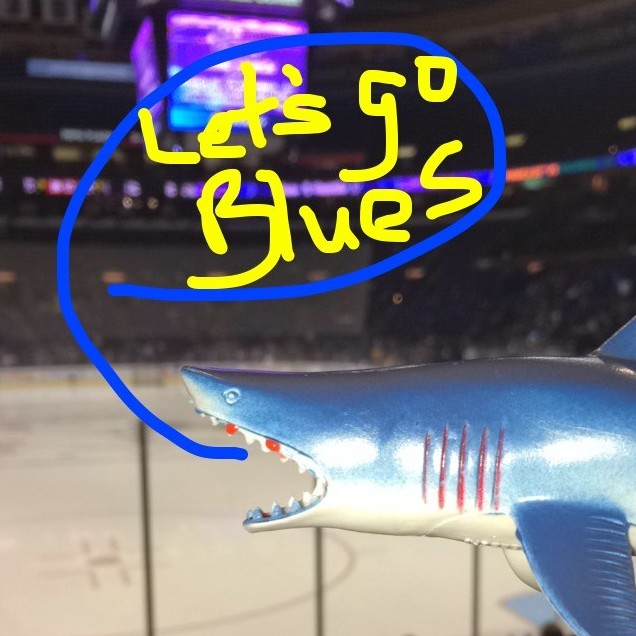 St. Louis Blues Shark