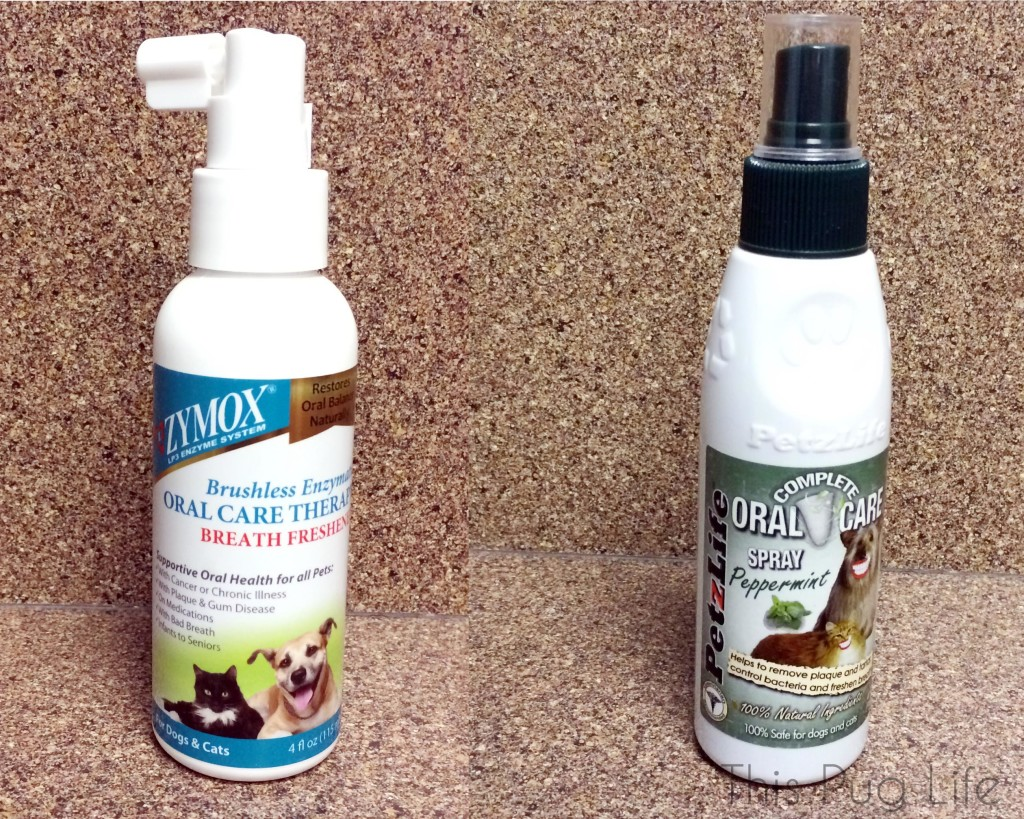Zymox and PetzLife Dental Spray