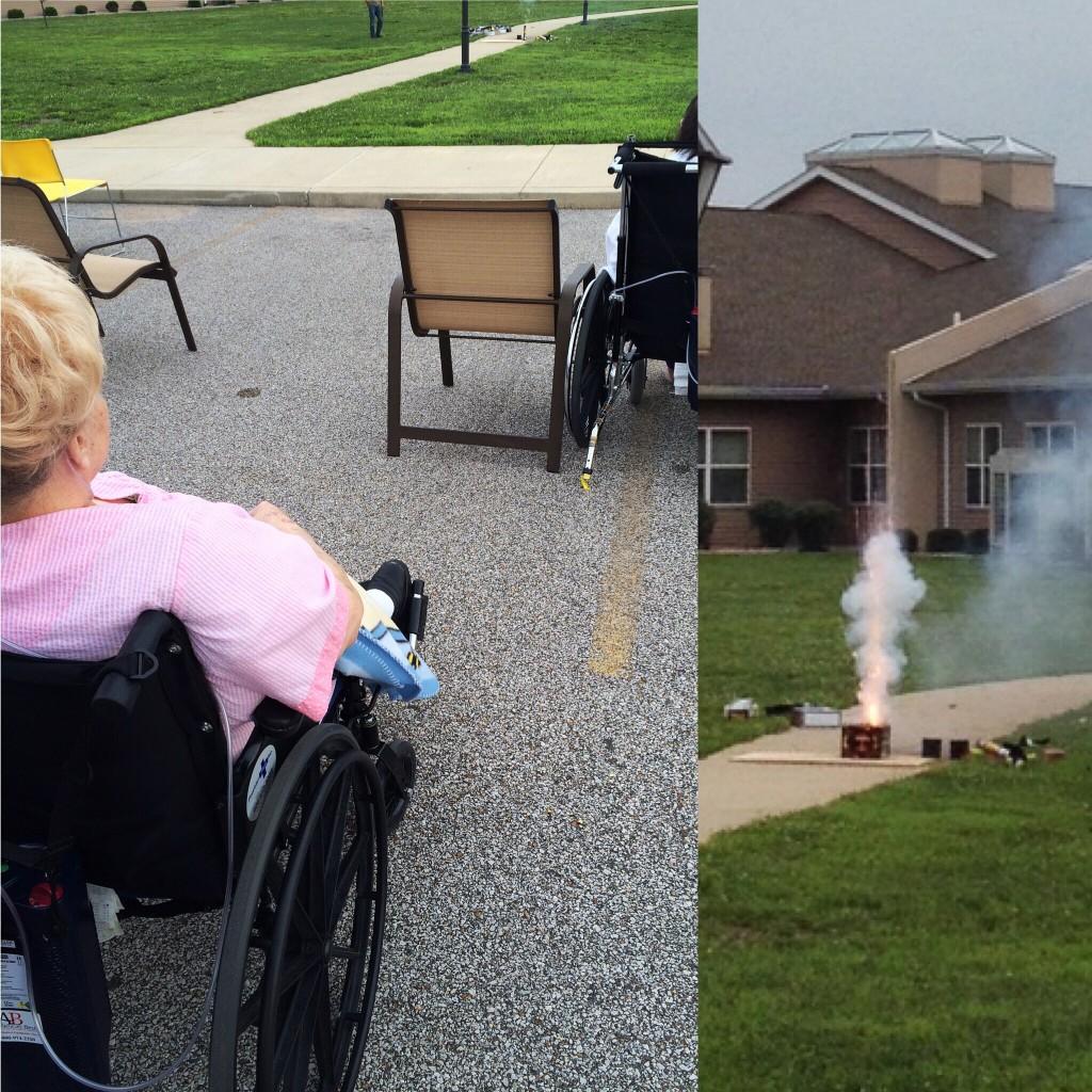 Nursing Home Fireworks