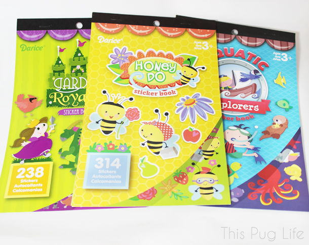 Darice Sticker Books