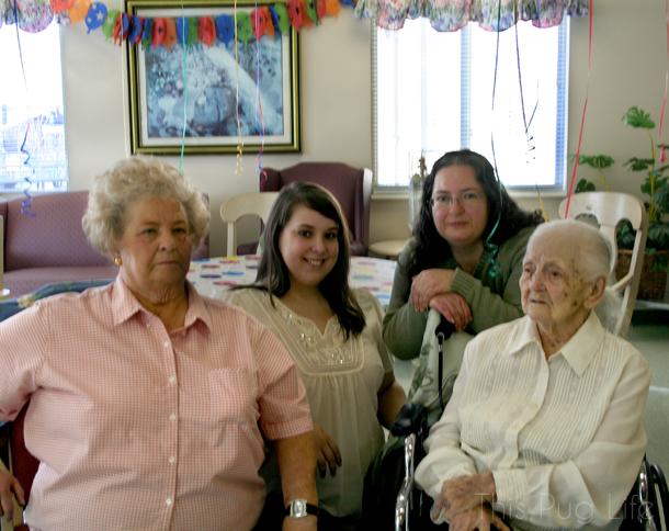 Great Grandma 100th Birthday