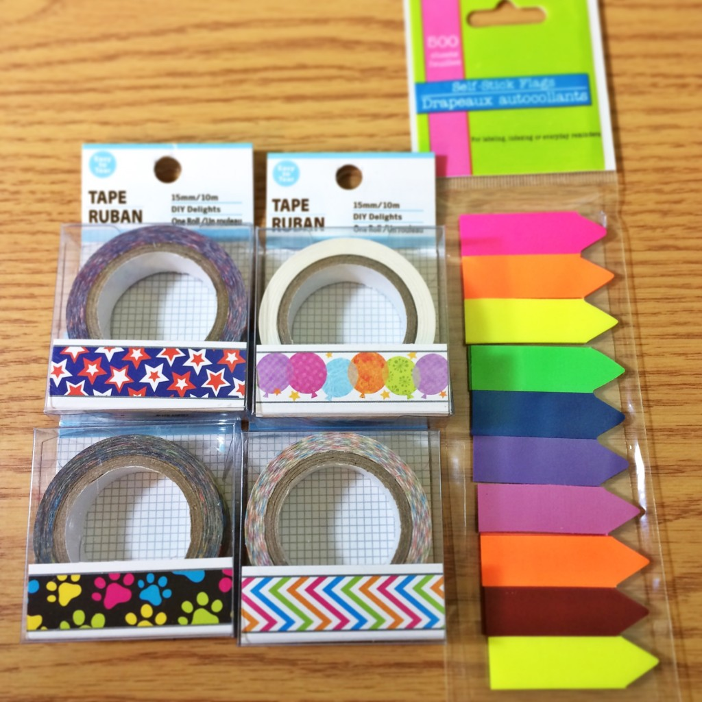 Dollar Tree Planner Haul