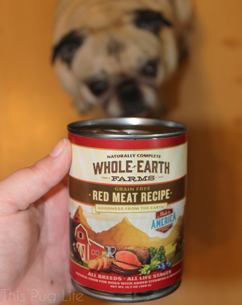 Pug Reviews Whole Earth Farms Dog Food
