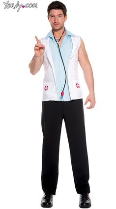 Men's Sexy Doctor Halloween Costume