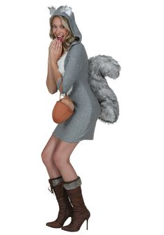 Sexy Squirrel Halloween Costume